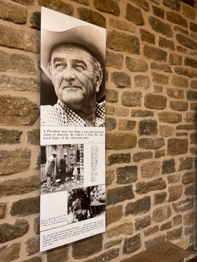 Johnson Settlement Exhibit Center rotated - Explore LBJ Ranch and the Texas Hill Country
