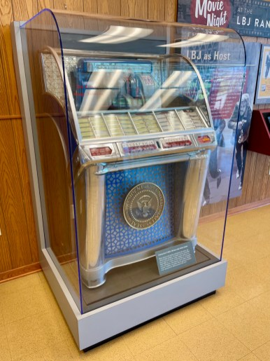 LBJ Ranch jukebox - Explore LBJ Ranch and the Texas Hill Country