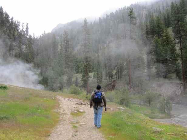 Bonneville Hot Springs - Boise National Forest, Idaho - secret hot springs