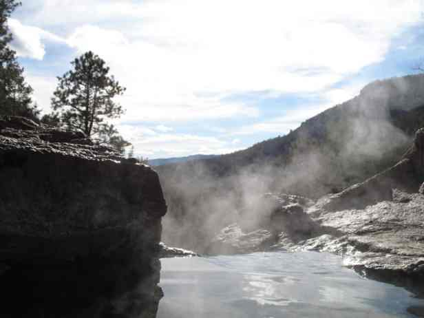 Spence Hot Springs, NM - secret hot springs
