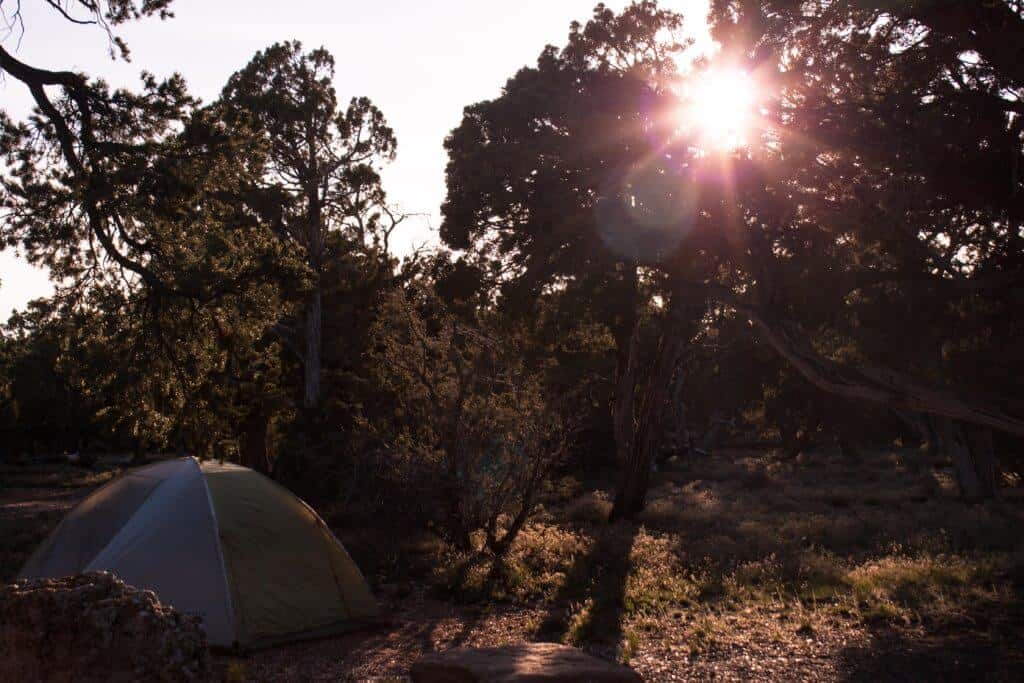 Desert View Campground, Grand Canyon, site #15