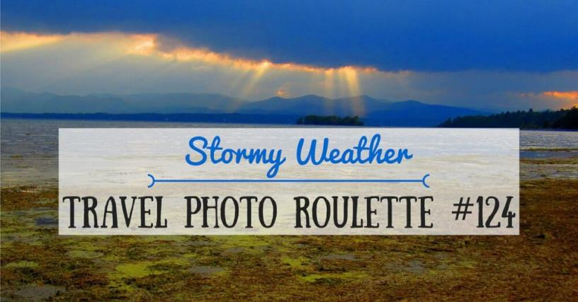 Travel photo roulette