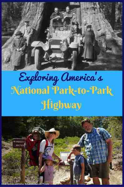 The National Park-to-Park Highway was created in the 1920s to help promote popular and obscure national parks. The original road trip covered 5,600 miles of dirt roads. It's still a great way to explore the national parks today, but the roads are paved and you'll find lots of amenities.