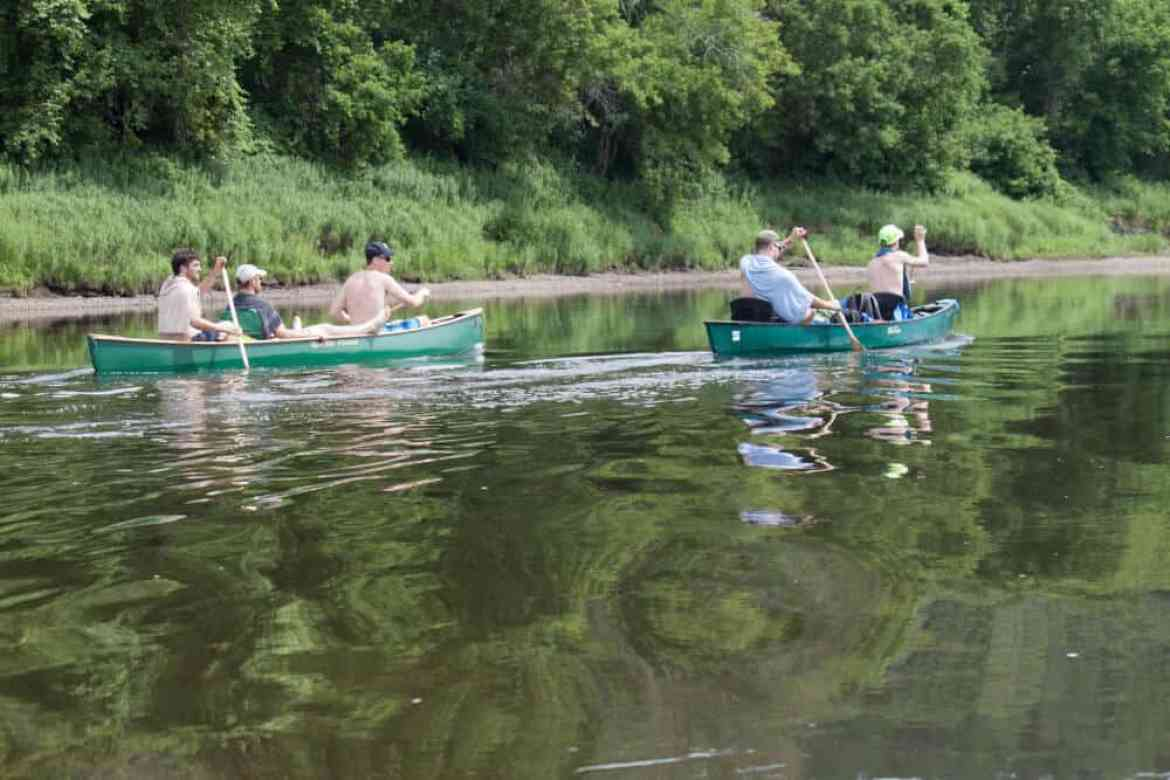 canoeing the Connecticut River