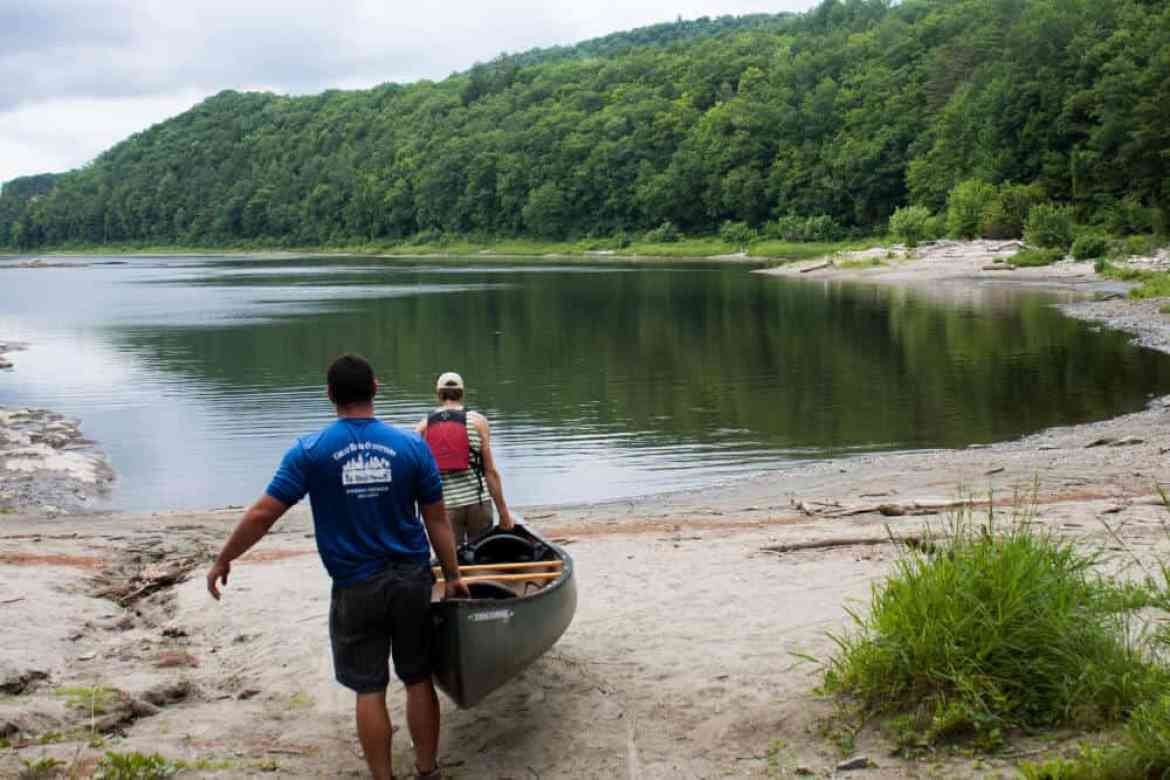 Paddling the Connecticut River