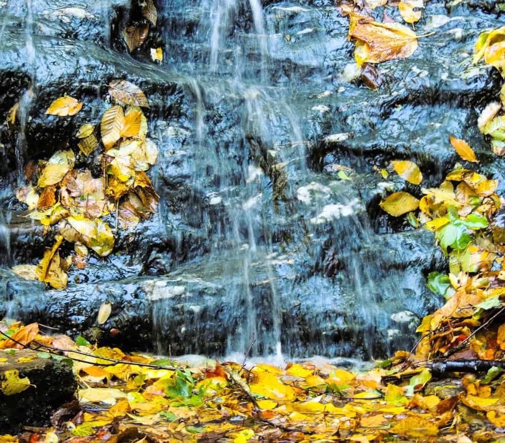 March Cataract Falls in the autumn