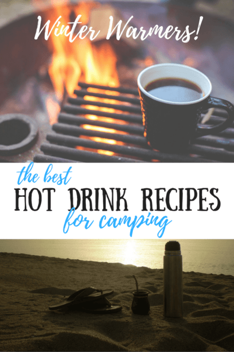 If you've got outdoor adventures planned for this winter, you need this easy hot drink recipes! They make camping, hiking, and skiing so much more fun!