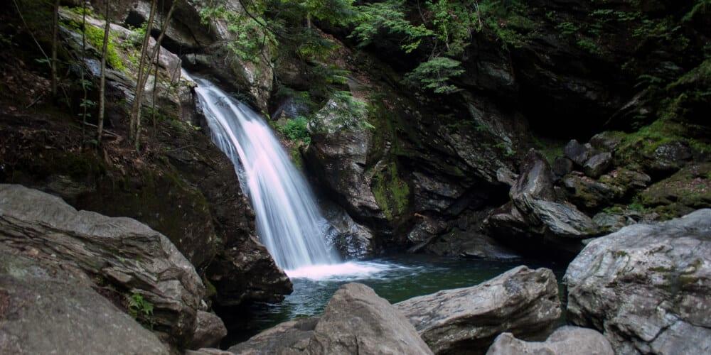 Summer: Smuggler's Notch State Park - Bingham Falls
