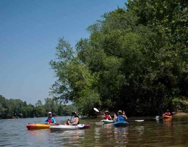 Kayaking with Marietta Adventure Company