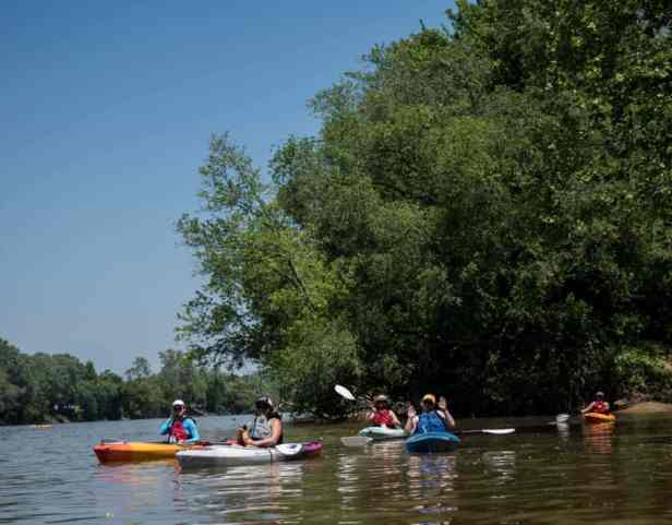 Kayaking with Marietta Adventure Company