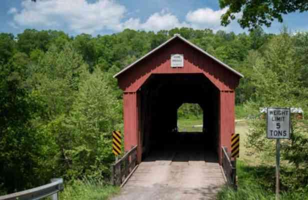 Hune Covered Bridge - Marietta Ohio