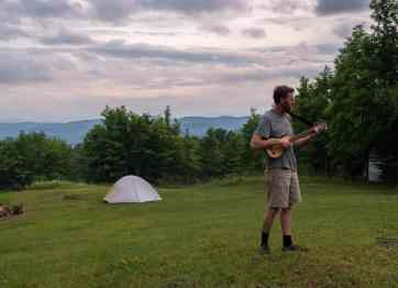 Vermont Camping: farmstay edition