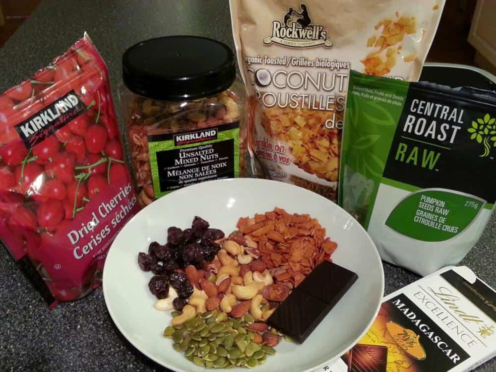 snacks for hiking and road trips