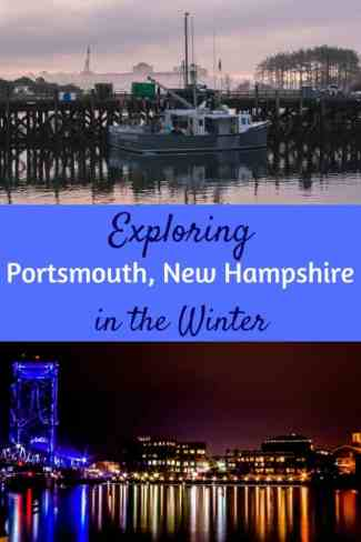 Exploring Portsmouth, New Hampshire in the winter. #NewEngland #NewHampshire