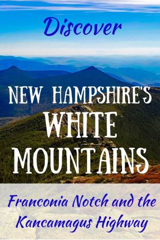 A summer view of New Hampshire's White Mountains