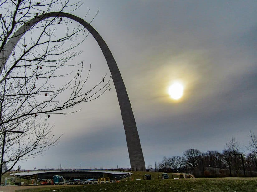 The Gateway Arch in St. Louis. Photo credit: Roxanna Keyes
