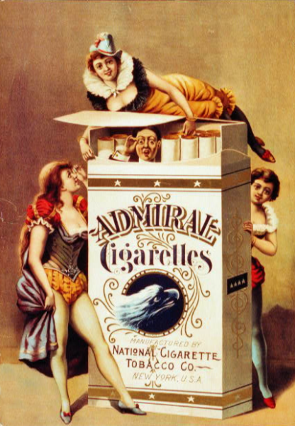 Admiral Cigarettes Magnet