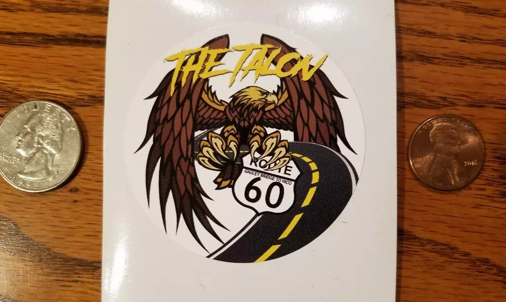 THE TALON – OG LOGO STICKER