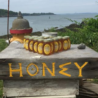 Everything tastes better with Peaks Island Honey