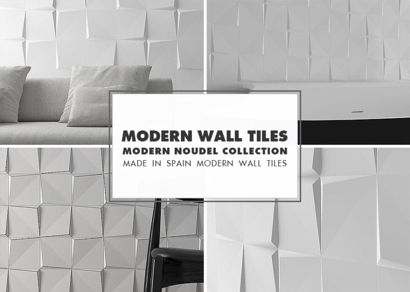 Modern Wall Tile Ideas Noudel Collection