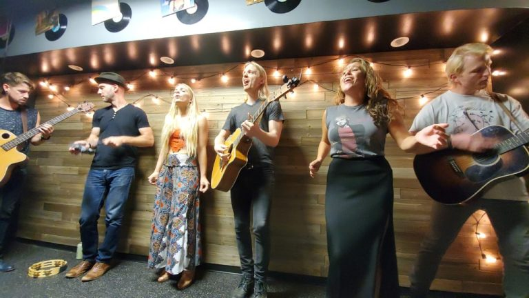 Delta Rae in West Virgina VIP acoustic session 2019