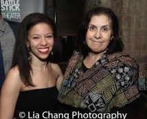 Flor De Liz Perez and Socorro Santiago. Photo by Lia Chang