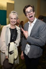 NEW YORK, NY - JUNE 05: Mary Beth Peil (L) and Gavin Creel attend the Tony Honors Cocktail Party Presenting The 2017 Tony Honors For Excellence In The Theatre And Honoring The 2017 Special Award Recipients - Arrivals at Sofitel Hotel on June 5, 2017 in New York City. (Photo by Jenny Anderson/Getty Images for Tony Awards Productions)