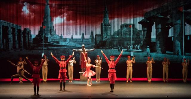 Isadora-Emily Anderson-Terpischore & Natalia Osipova-Isadora on pedestal,Veronika Part-The Ballerina Alexey Lyubimov-Dance Teacher-byDoug Gifford