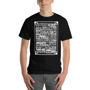 British Rock And Roll Bands T Shirt