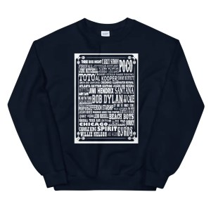 American Bands Rock And Roll Sweatshirt