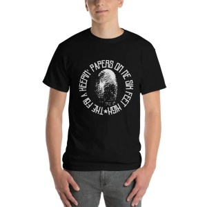 FBI Fingerprint File Tee Shirt