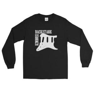 Backstage Scratchplate Long Sleeve Tee Shirt