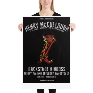 Henry McCullough Poster