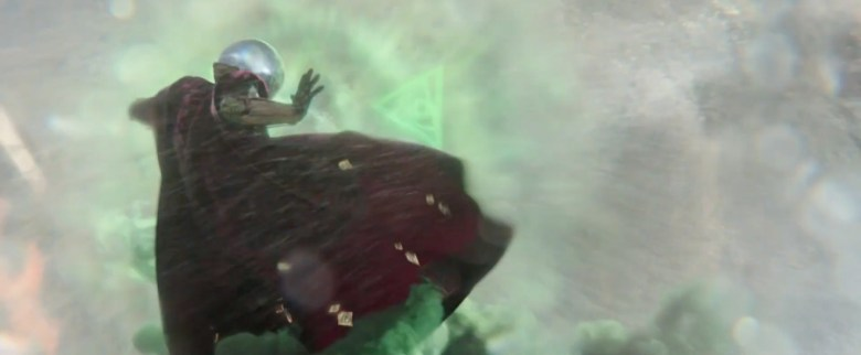 Mysterio takes on the Elementals.