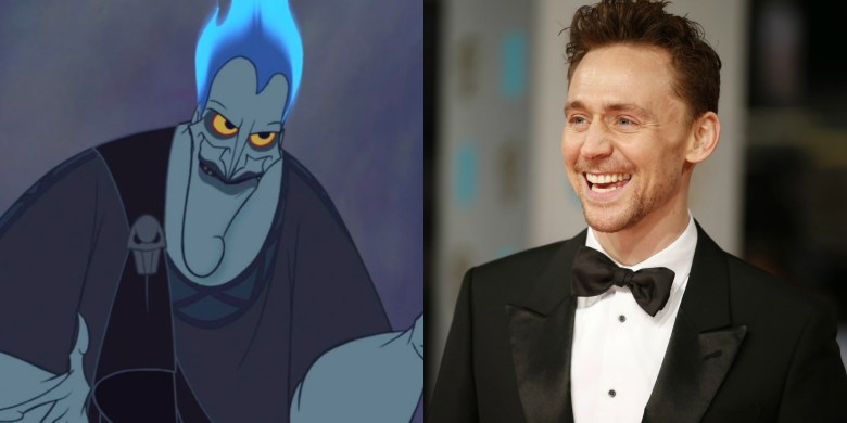 Tom Hiddleston as Hades