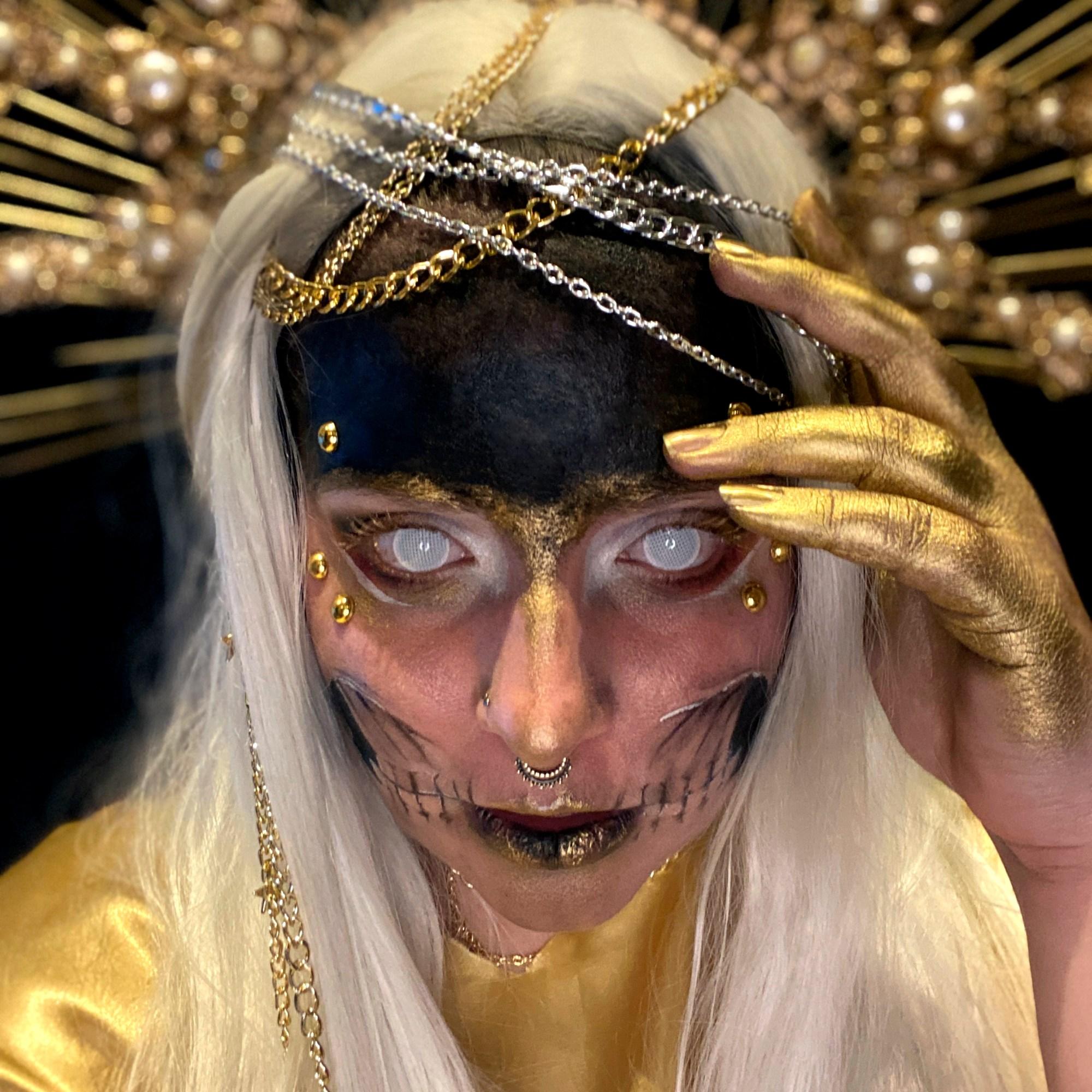 Kaitlyn Armitano as the Angel of Death