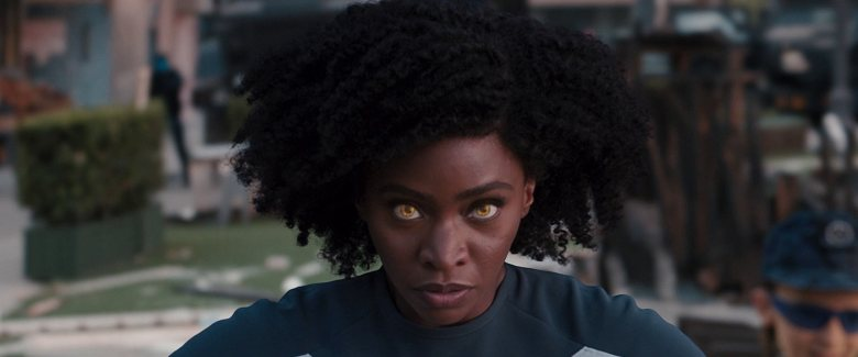 "Teyonah Parris as Monica Rambeau in ""WandaVision""."