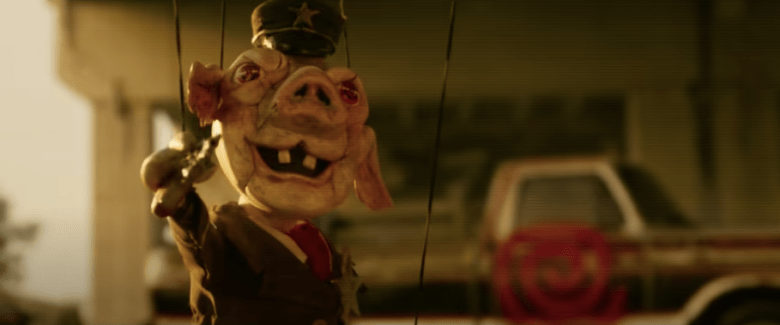 """Pig Marionette from """"Spiral"""""""
