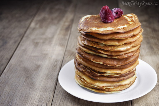 Gluten Free Buckwheat Pancakes - Back To My Roots