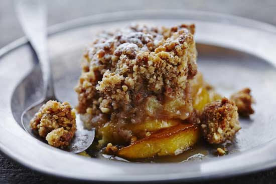 Gluten Free Apple Crumble - www.BackToMyRoots.ca