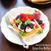 Fluffy Waffles Recipe (gluten free option)