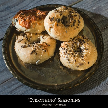 """Everything Bagel"" Seasoning Blend"