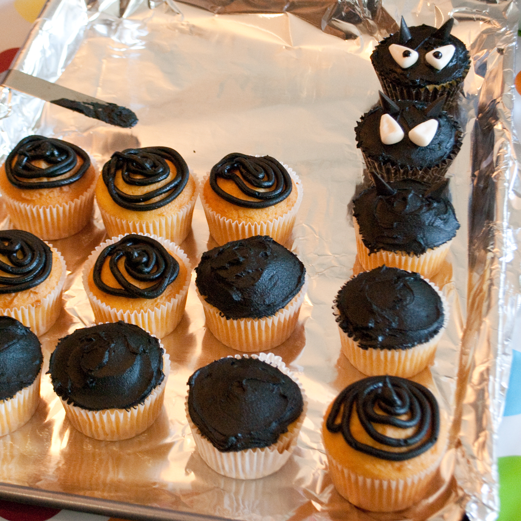 Back To Organic Magical Cupcakes For Halloween Or Themed