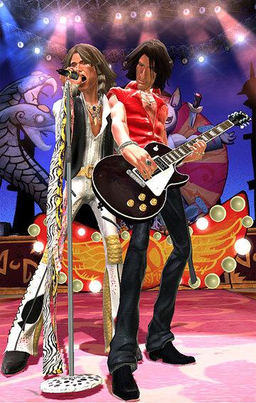 Back To Rockville Guitar Hero Aerosmith Style