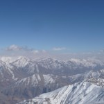 Damavand (in the middle)