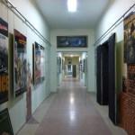 Looking down the corridor