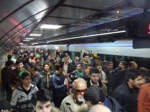 Metro station Enghelab
