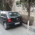 VW Golf is in Iran VW Gol (Flower)