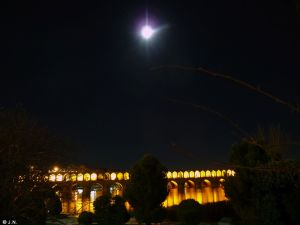 33rd Bridge at night