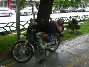 Take a little nap Iranian style
